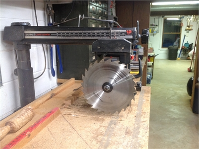 Craftsman Radial Arm Saw With Cabinet & Accessories - TradinPost