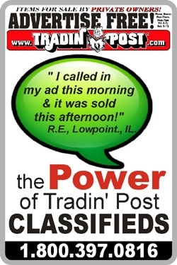 the POWER of Tradin Post Classifieds